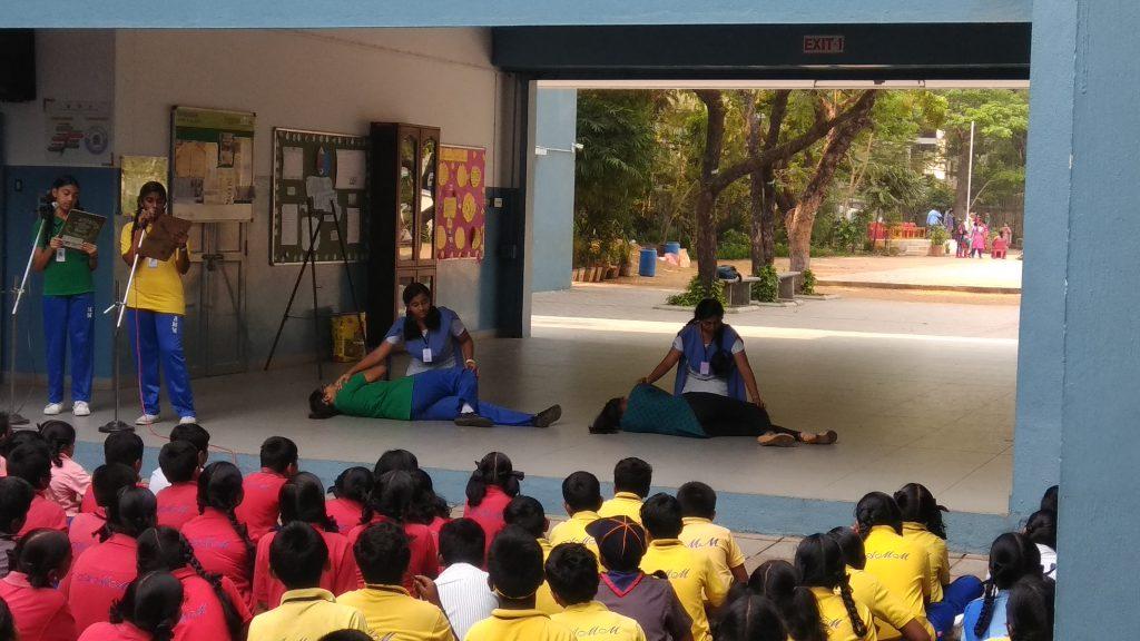 AMM School First aid Demo