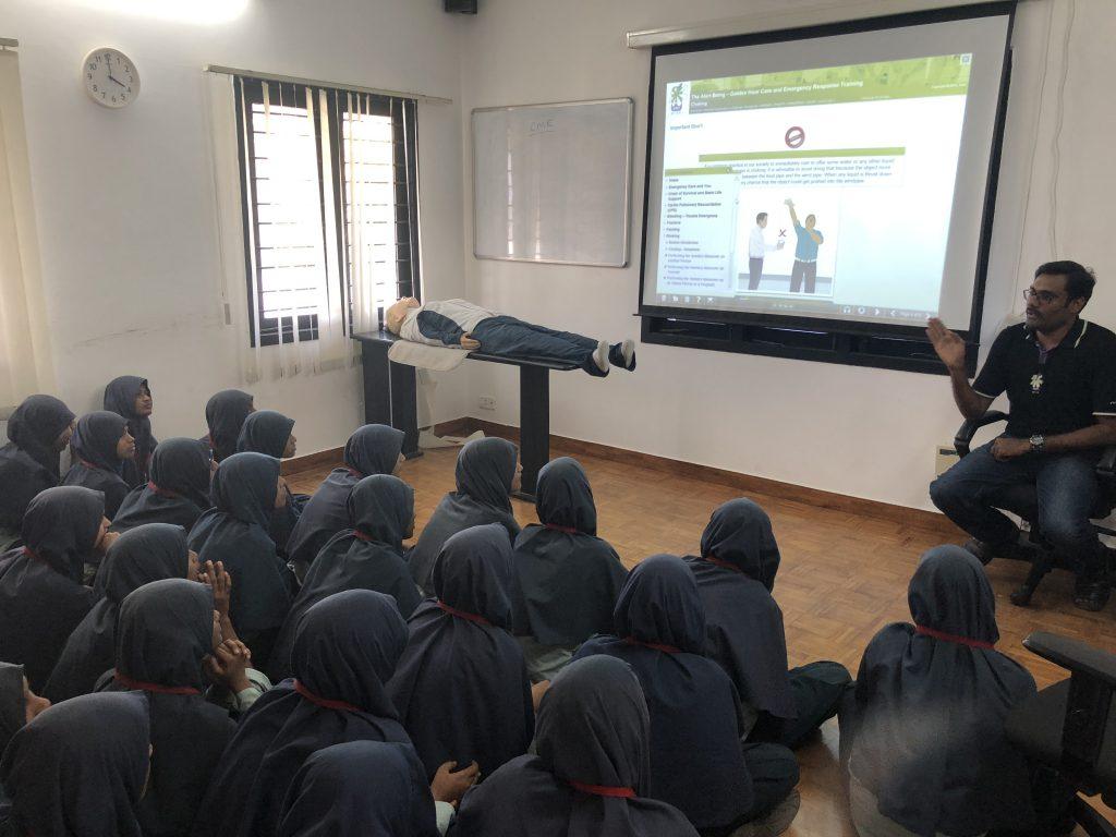 Anjuman School Simlab visit